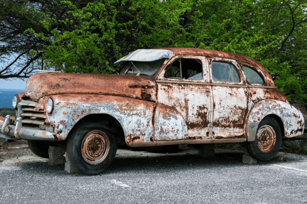 Vad säger bilbesiktningen om rost